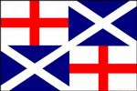 NAVAL ENSIGN 1659 - 5 X 3 FLAG